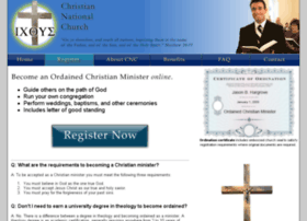 ministerregistration.org