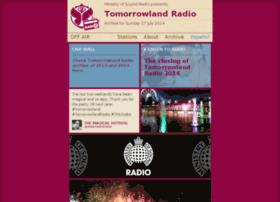 ministryofsound.tomorrowlandradio.com