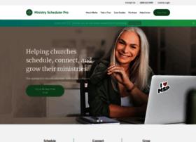 ministryschedulerpro.com
