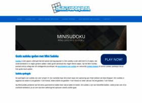 minisudoku.nl