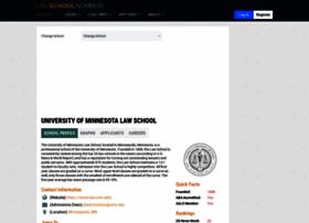 minnesota.lawschoolnumbers.com