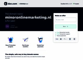 minoronlinemarketing.nl