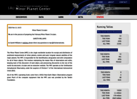 minorplanetcenter.net