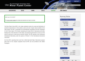 minorplanetcenter.org