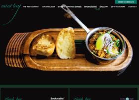 Mintleafrestaurant.com