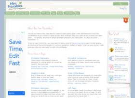 mintprintables.com