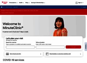 minuteclinic.com