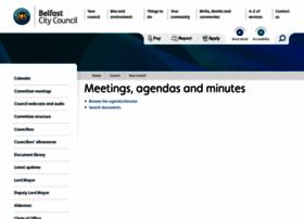 minutes.belfastcity.gov.uk