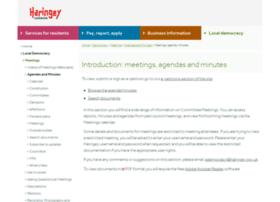 minutes.haringey.gov.uk