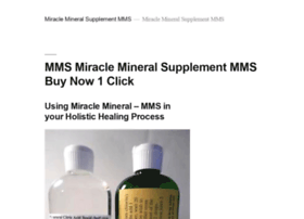 miraclemineralsupplement-mms.com