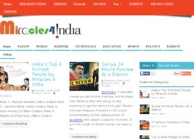 miracles4india.com