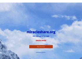 miracleshare.org