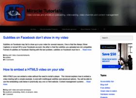 miracletutorials.com