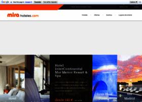 mirahoteles.com