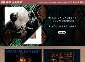 mirandalambert.com