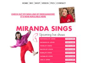 mirandasings.com
