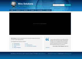 mirasolutions.com