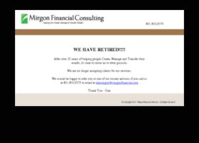 mirgonfinancial.com