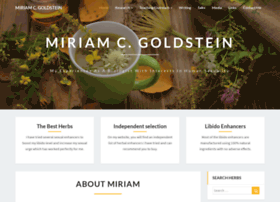miriamgoldstein.info