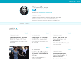 miriamgroner.contently.com