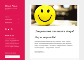 miriampelaez.com