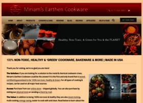 miriamsearthencookware.com