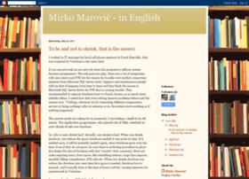 mirko-marovic-eng.blogspot.com