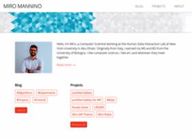 miromannino.com