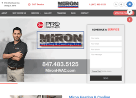 mironhvac.com
