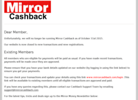 mirrorcashback.com
