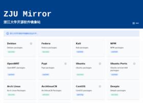 mirrors.zju.edu.cn