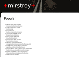 mirstroy.info