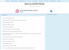 mis-algoritmos.com