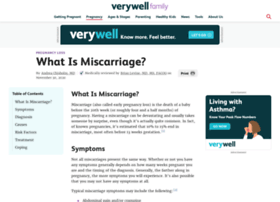 miscarriage.about.com
