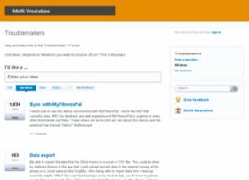 misfitwearables.uservoice.com