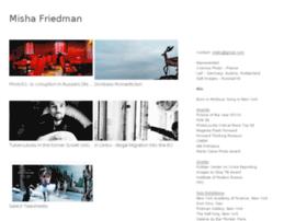 mishafriedman.viewbook.com