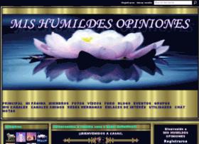 mishumildesopiniones.ning.com