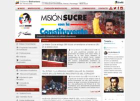 misionsucre.gov.ve