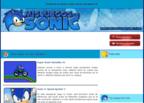 misjuegosdesonic.com