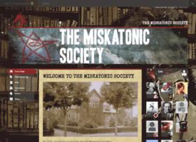 miskatonic-society.obsidianportal.com