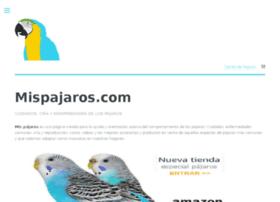 mispajaros.com
