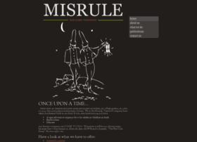 misruletheatrecompany.com