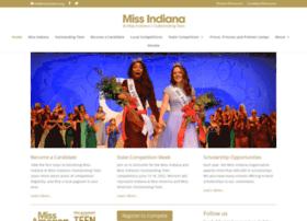 missindianapageant.com