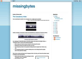 missingbytes.blogspot.com