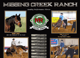 missingcreekranch.com