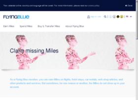 missingmiles.flyingblue.com