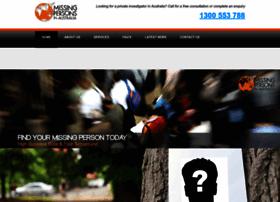 missingpersonsinaustralia.com.au