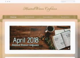 missionalwomenconference.com