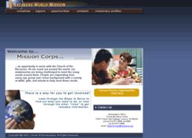 missioncorps.nazarene.org