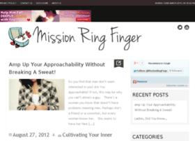 missionringfinger.com